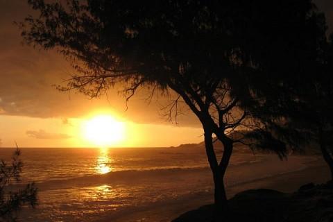 Fin de journée à la Réunion